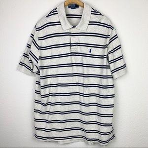 Polo By Ralph Lauren Classic Gray Polo Shirt XXL